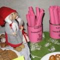 Ruhe- und Therapiepark Adventfeier 9. Dezember 09 - Am Buffet