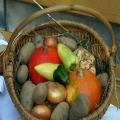Erntedank Gemüsekorb