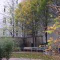 Blick auf die Gehilfe im Mariahilfer Ruhe- und Therapiepark