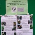 Mariahilfer Ruhe- und Therapiepark - Beschallungsfreie Infos im Glaskasten