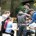 Vinzenz von Paul-Park - Generationenfest - Am Spieltisch