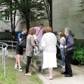 Vinzenz von Paul-Park - Generationenfest- BesucherInnen beim Generationenquiz
