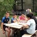 Vinzenz von Paul-Park - Generationenfest- Beim Schachspielen