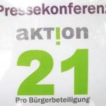 Pressekonferenz Aktion21